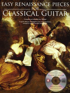 Easy Renaissance Pieces For Classical Guitar (Bk-Cd)