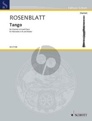 Rosenblatt Tango Clarinet[Bb]-Piano