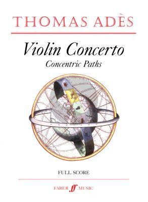 Ades Violin Concerto Concentric Paths Full Score