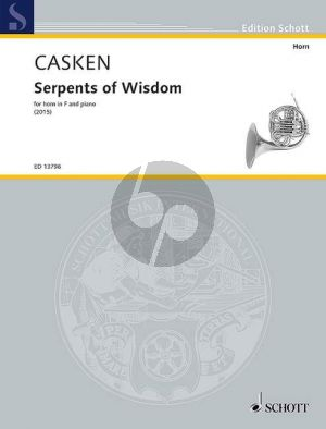 Casken Serpents of Wisdom Horn[F]-Piano