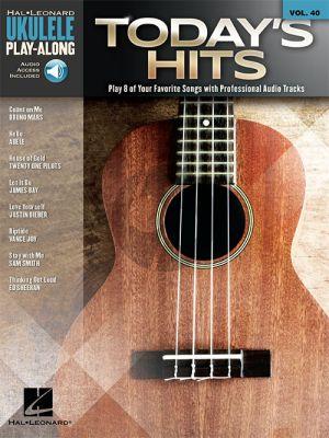 Today's Hits (Ukulele Play-Along Series Vol.40)