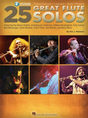 Morones 25 Great Flute Solos (Transcriptions-Lessons-Bios)