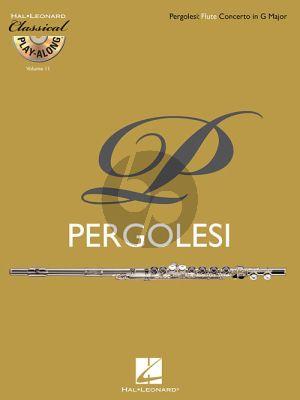Pergolesi Concerto in G-Major Flute (Bk-Cd)