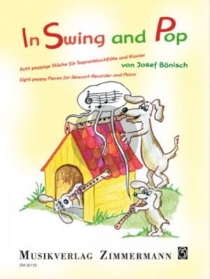 Bonisch In Swing and Pop (Acht peppige Stücke) Sopranblock-Klavier