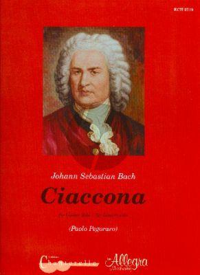 Bach Ciaccona dalla Partita no. 2 BWV 1004 Guitar