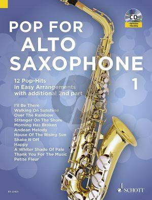Pop for Alto Saxophone (12 Pop-Hits in Easy Arrangements)