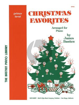 Bastien Christmas Favorites Primer Level Piano