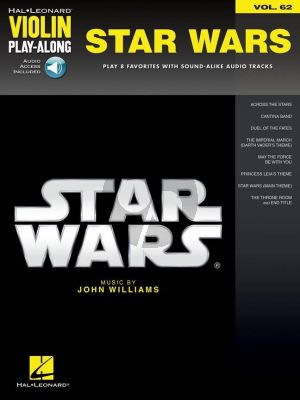 Williams Star Wars (Violin Play-Along Series Vol.62) (book with Audio online)