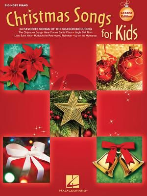 Christmas Songs for Kids (Big Note Songbook) Piano