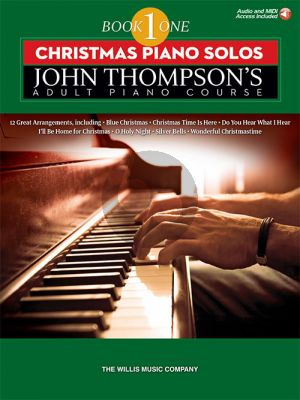 Thompson Christmas Piano Solos (Suppl. to John Thompson's Adult Piano Course Book1))