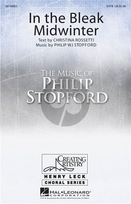Stopford In the Bleak Midwinter (SATB-Piano)