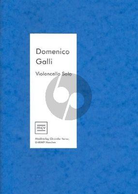 Galli 12 Sonatas Violoncello solo (Sabrina Lehrmann)