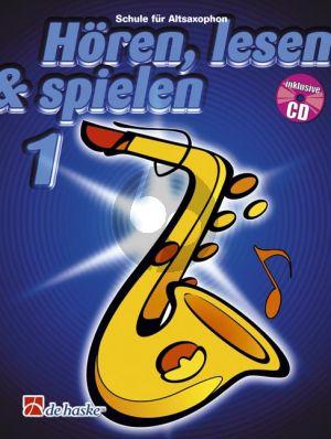 Kastelein-Oldenkamp Horen-Lesen & Spielen Vol.1 Altosaxophon (Bk-Cd) (deutsch)