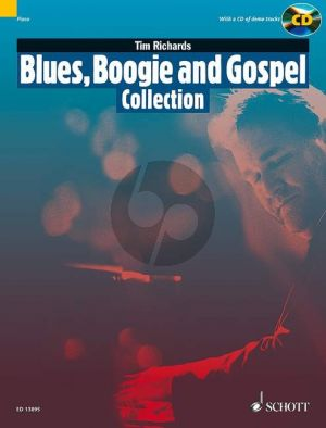 Richards Blues-Boogie and Gospel Collection Piano solo (Bk-Cd)