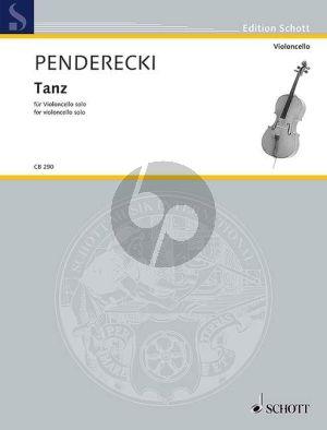 Penderecki Tanz Violoncello solo