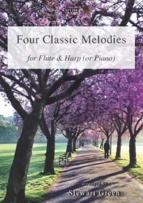 4 Classic Melodies Flute-Harp[Piano] (arr. Stewart Green)