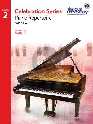 Celebration Series Piano Repertoire Vol.2 Book with Audio online