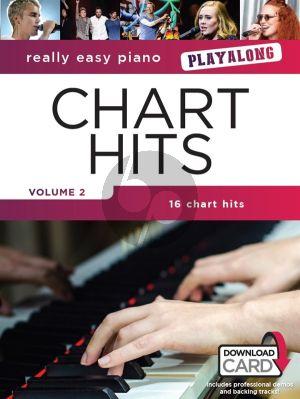 Really Easy Piano Playalong: Chart Hits Vol.2