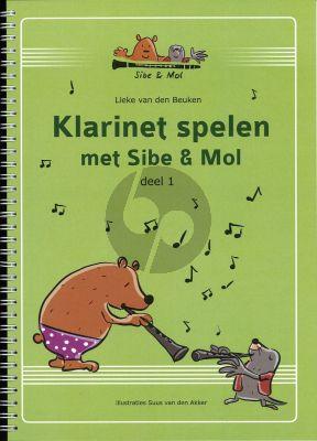Lieke van den Beuken Klarinet Spelen met Sibe & Mol Vol.1 (2e druk)