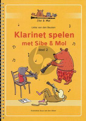 Lieke van den Beuken Klarinet Spelen met Sibe & Mol Vol.2 (2e druk)