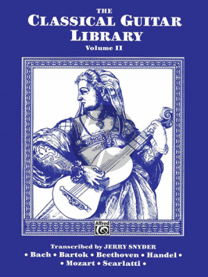 The Classical Guitar Library Vol.2 (Jerry Snyder)
