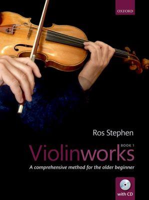 Stephen Violinworks Book 1 (A comprehensive method for the older beginner) (Bk-Cd)