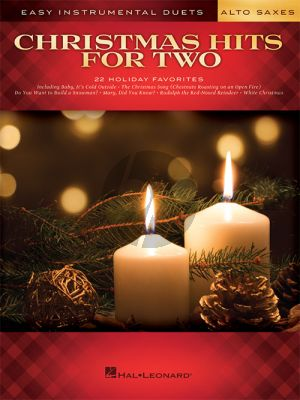 Christmas Hits for Two Alto Saxes