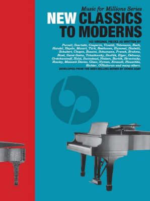 New Classics To Moderns (Music for the Millions Series)