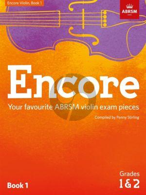 Encore - Violin Vol.1 Grades 1-2 ABRSM