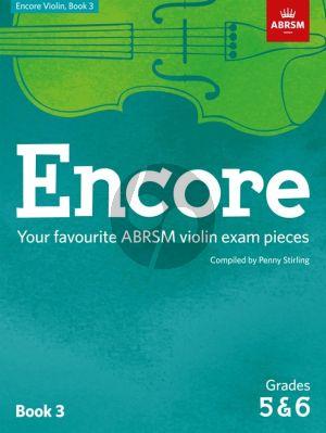 Encore - Violin Grades 5-6 ABRSM