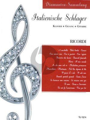 Diamanten-Sammlung – Italienische Schlager Klavier-Vokal-Gitarre