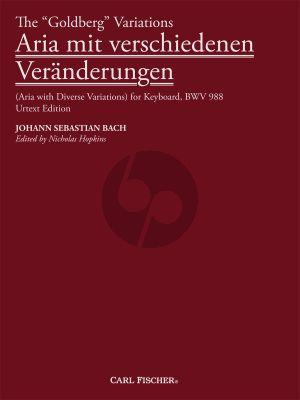 Bach Goldberg Variations (Aria mit verschiedenen Veränderungen) (Hopkins)