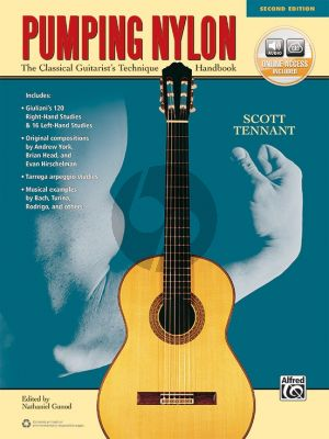 Tennant Pumping Nylon (The Classical Guitarist's Technique Handbook) (Book with Audio online)