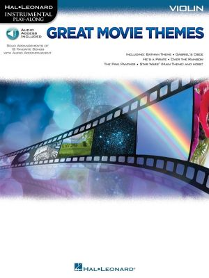Great Movie Themes Violin (Book with Audio online)