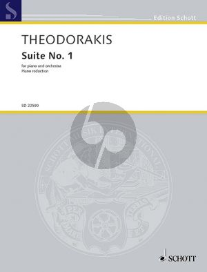 Theodorakis Suite No.1 AST 61 Piano and Orchestra (piano red.)