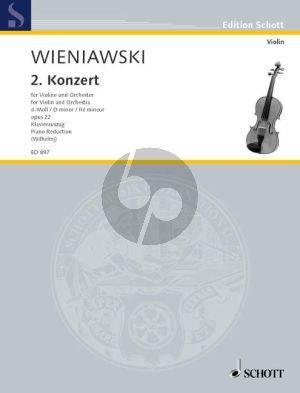Wieniawski Concerto No.2 d-minor Op.22 Violin-Orch. (piano red.)