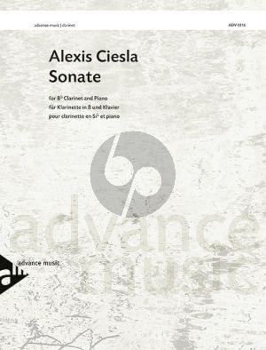 Ciesla Sonata Clarinet-Piano