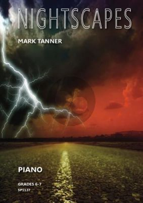 Tanner Nightscapes for Piano (grades 6-7)