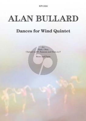 Bullard Dances for Wind Quintet (Score/Parts)