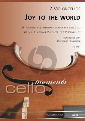 Joy to the World (38 der schonsten und interesantesten Weihnachtslieder) 2 Violoncellos
