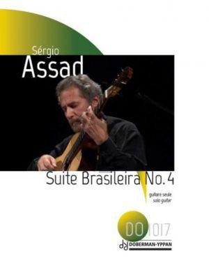 Assad Suite Brasileira no.4 Guitare Seule