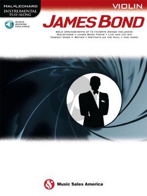 James Bond Instrumental Play-Along Violin