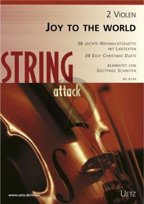 Joy to the World (38 der schonsten und interesantesten Weihnachtslieder) 2 Violas