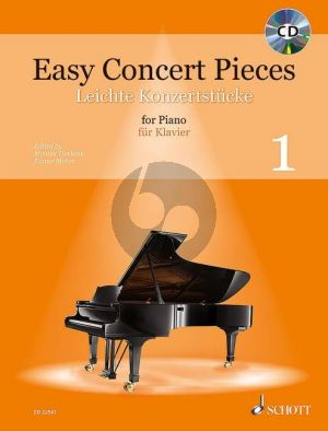 Easy Concert Pieces (50 Easy Pieces from 5 Centuries) Piano solo (Bk-Cd)