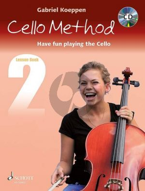 Koeppen Cello Method (Have fun playing the Cello) Lesson Book 2 (Bk-Cd)