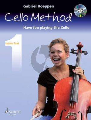 Koeppen Cello Method (Have fun playing the Cello) Lesson Book 1 (Bk-Cd)