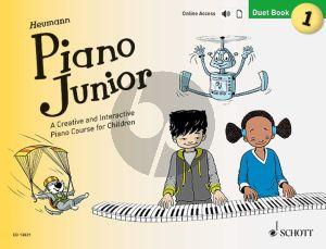 Heumann Piano Junior: Duet Book 1