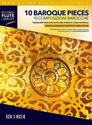 10 Baroque Pieces Flute-Piano