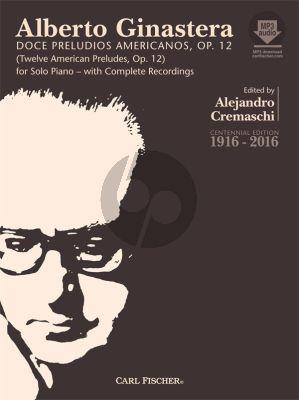 Ginastera 12 American Preludes (Doce Preludios Americanos) Piano