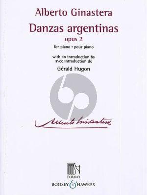 Ginastera Danzas Argentinas Op.2 Piano solo (Gérald Hugon)